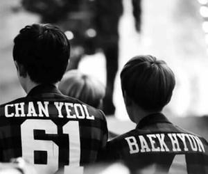 real, chanyeol, and baekhyun image