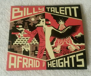 billy talent, afraid of heights, and new album image