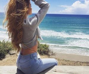 fashion, beach, and summer image