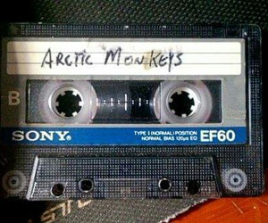 arctic monkeys, cassette, and music image