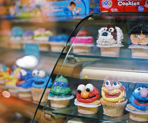 cupcake, cute, and elmo image