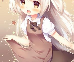 anime, art girl, and cartoon image