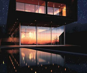 luxury, home, and stars image