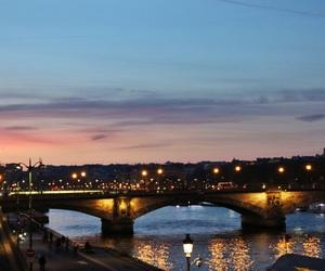 france, landscape, and la Seine image