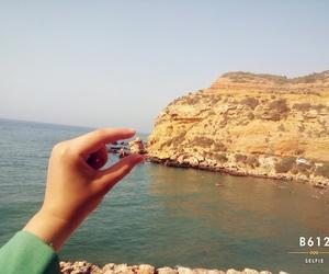 Algeria, beach, and hand image
