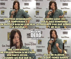 norman reedus, the walking dead, and comic-con image