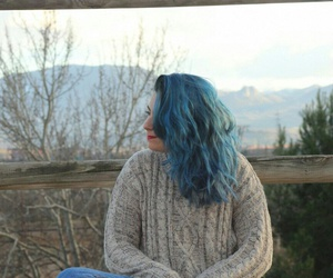blue, cool, and fashion image