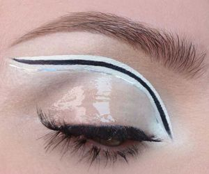 60s, eyeliner, and eyes image