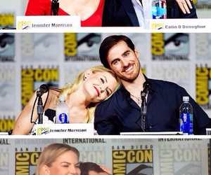 once upon a time, colin o'donoghue, and Jennifer Morrison image