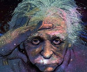 einstein, Albert Einstein, and art image