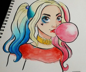 harley quinn and suicide squad image