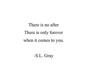 forever, him, and love quotes image