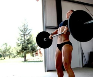 fitness, fit, and crossfit image