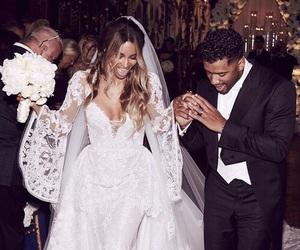 wedding, ciara, and couple image
