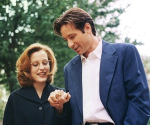 dana scully, fox mulder, and the x files image