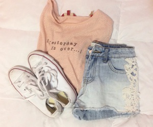 clothes, look, and converse image