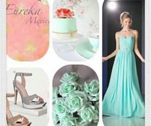 azul, vestidos, and xv image