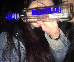 girl, vodka, and bad image