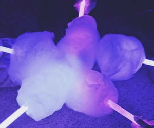 cotton, aesthetic, and cotton candy image
