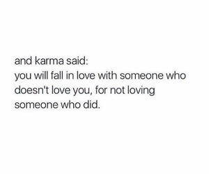 karma and love image