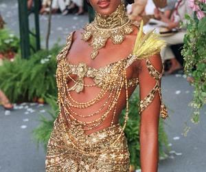 fashion and Naomi Campbell image