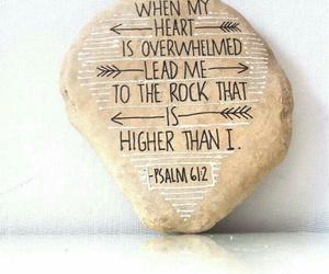 bible, god, and rock image