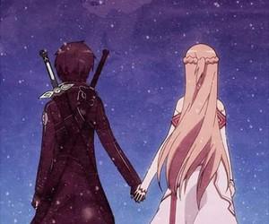 sao, sword art online, and anime image