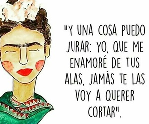 frase, Frida, and inspiracion image