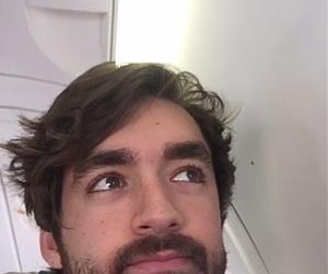 airplane, beard, and dj image