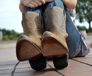 boots and cowgirl boots image
