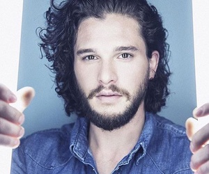 white wolf, jon snow, and game of thrones image