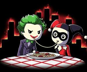 cena, joker, and harley quinn image