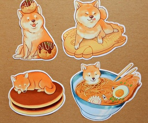adorable, noodles, and pancake image