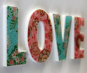 love, floral, and vintage image