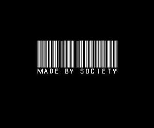 society, grunge, and black image