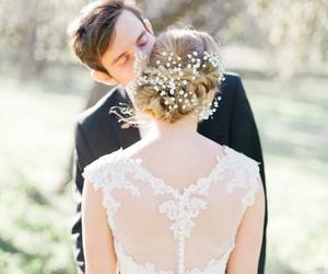 amor, bridal, and couple image