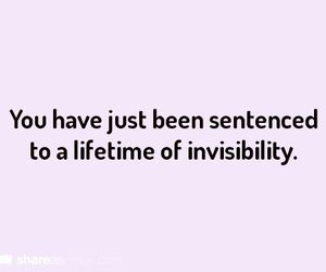 invisibility and writing prompt image