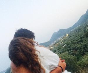boy, girl, and Greece image