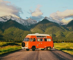 bus, old, and travel image