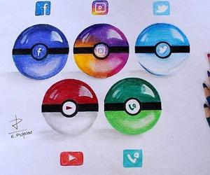 art, social+media, and drawing image