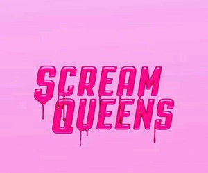 scream queens, pastel wallpaper, and pastel pink wallpaper image