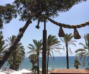 beach, marbella, and ocean image
