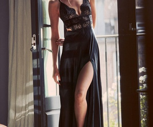 beauty, lingerie, and stella maxwell image