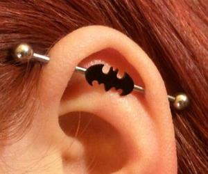 batman, piercing, and industrial image