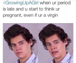 Harry Styles, funny, and period image