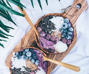 berry, summer, and coconut image