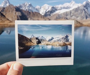 mountains, nature, and photography image