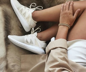 fashion, sneaker, and white image