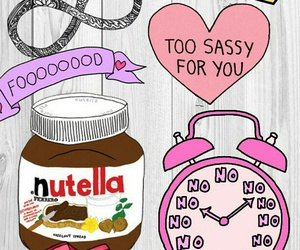 wallpaper and nutella image