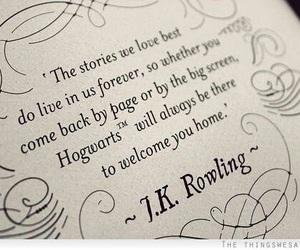 harry potter, hogwarts, and jk rowling image